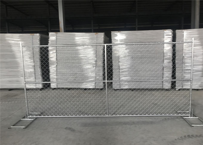 "6'x12' temporary fence pipes  1½""(38mm) x 16.5ga/1.50mm 366gram/SQM hot dipped galvanized per SQM"