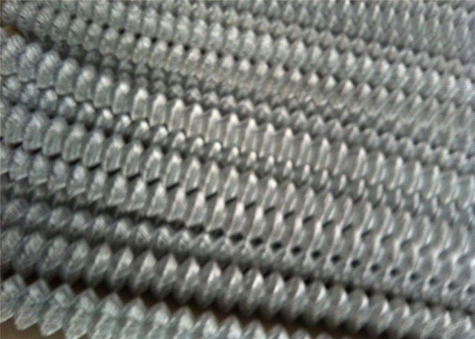 "HDG chain wire fencing 6ft x 20ft mesh 2"" x 2"" 8 gague wire"