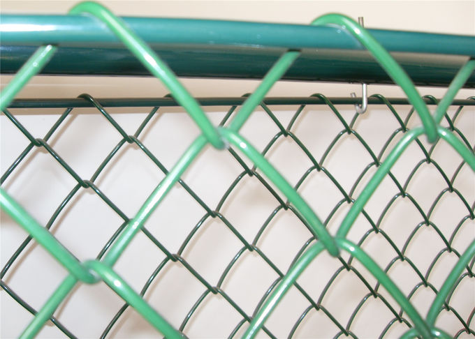 Chain Link Fencing Boundary Wall Fencing For Leisure Sports Field