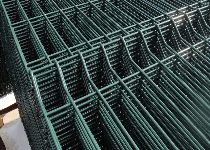PVC coated hot dipped galvanized nylofor 3d welded wire mesh fence panels