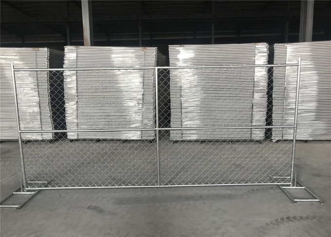 "Temporary Chain Link Fence 6'x12' 1.25"" tube x 16 Ga wall thick"