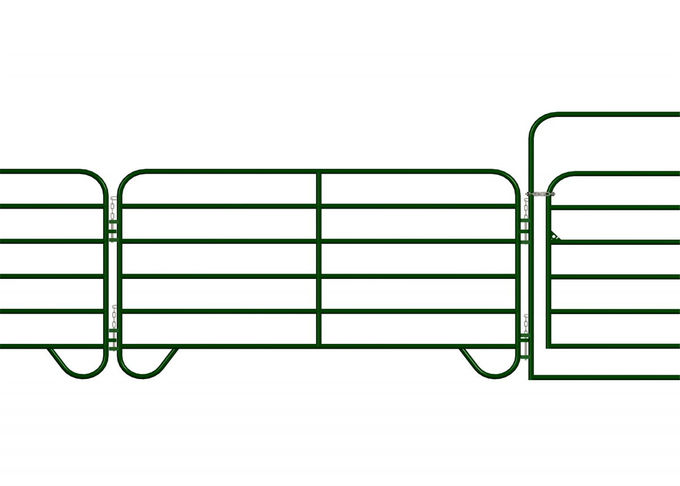 Durable cattle panel, cattle gates, oval rail yard equipment 1.2-2.5mm thickness