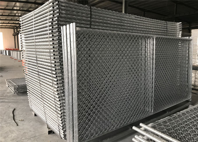 6'X12' TEMPORARY chain Link fence panels for construction building mesh 57mm x 57mm diameter 2.8mm