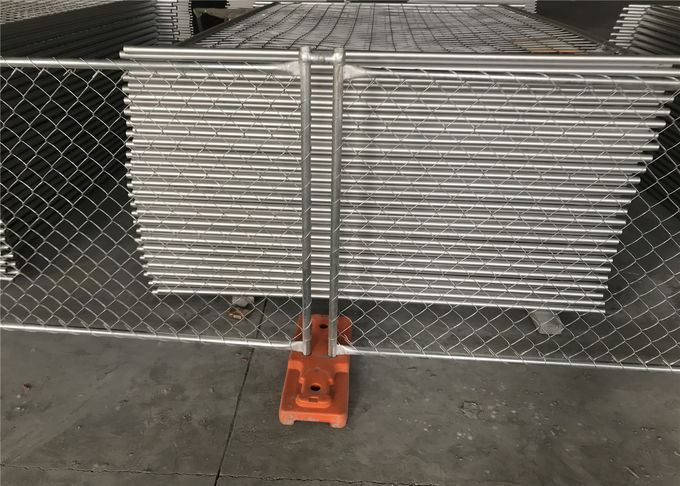 Temporary Security Construction Fencing Panels 1.83mx3.65m Mesh 57mmx57mm Diameter3.2mm/10Ga