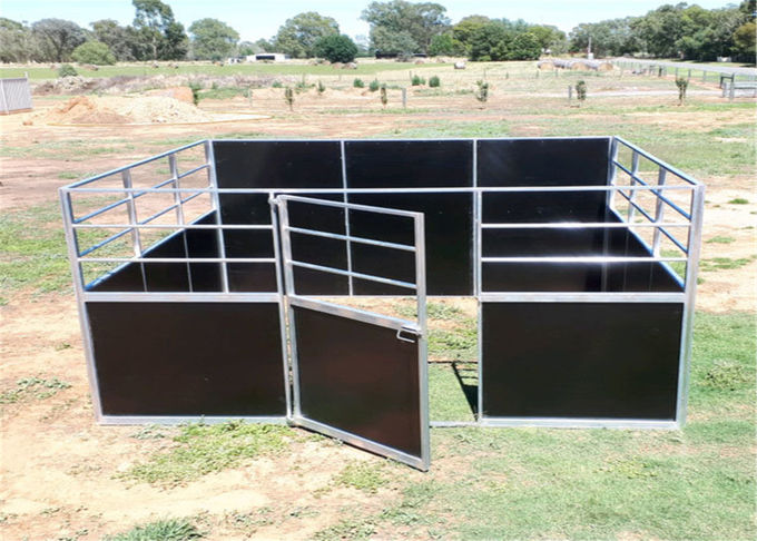 temporary horse stable with roofing 2200mm x 3600mm
