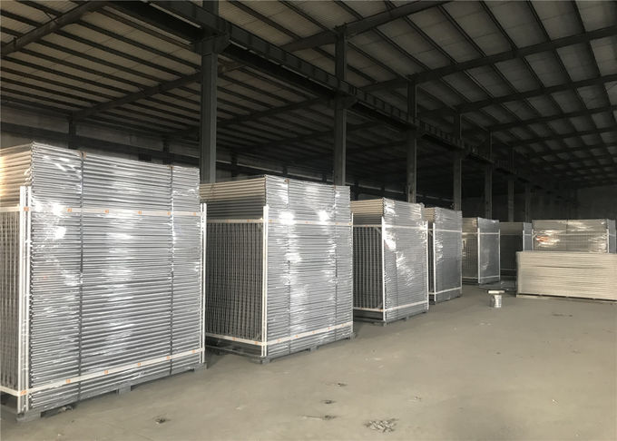 Temporary Construction Fencing New Zealand 2.1m x 2.4m OD 40mm wall thick 1.60mm