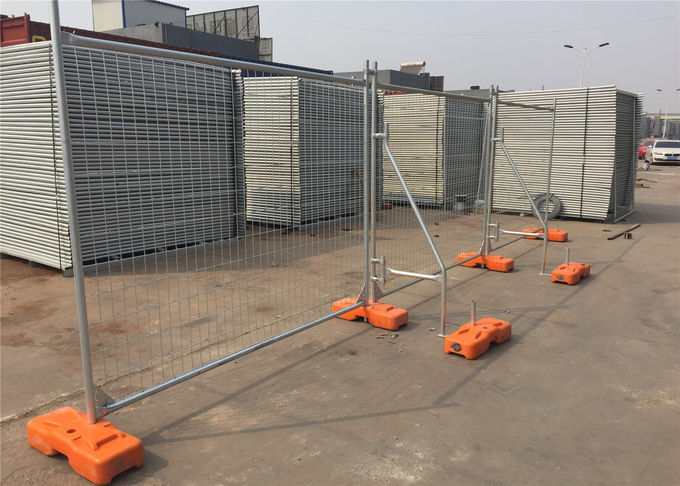 2.1mx2.4m 40mm  tube x 1.5mm temp construction temporary fence panels hot dipped galvanized to be 42 microns