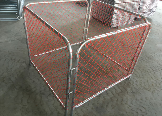 Chain wire mesh Rubbish Cage Containment for Auckland New Zealand Temporary Rubbish Fence