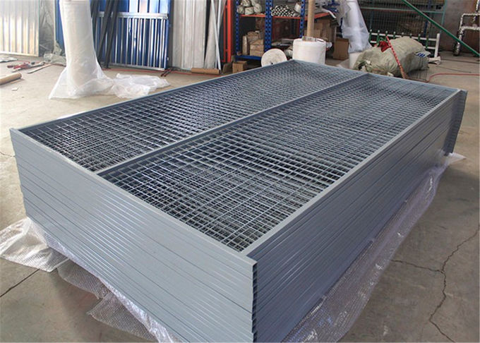 "Construction Security Temp Fence panels 6ft /1830mm x 9.5ft /2950mm Frame 1.6""/40mm*16ga mesh  3""x6"" *3.5mm"