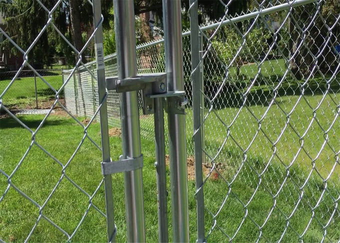 heavy duty chain link fencing/9 gauge chain link fence fabric/black vinyl chain link fence