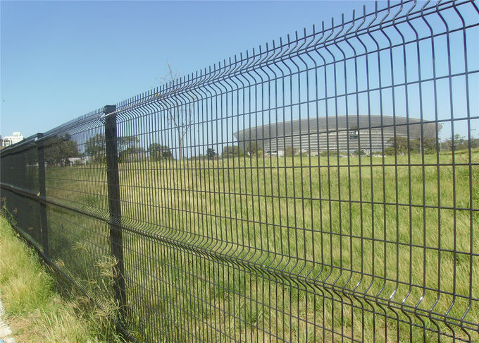 Welded WIRE Mesh Fence/double wire mesh fence/pvc coated welded wire mesh fence