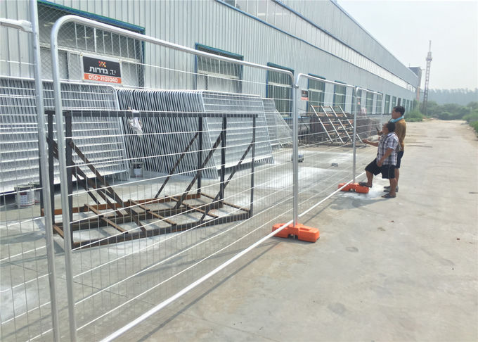Horizontal tube diameter: 38mm Vertical tube diameter: 38mm Round Top Temporary Fence RT38