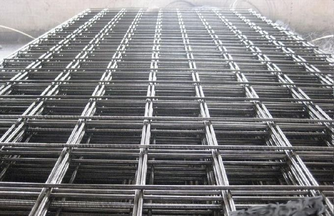DIN488 GERMAN STANDARD Weld Rebar Reinforced Wire Mesh For Construction Site