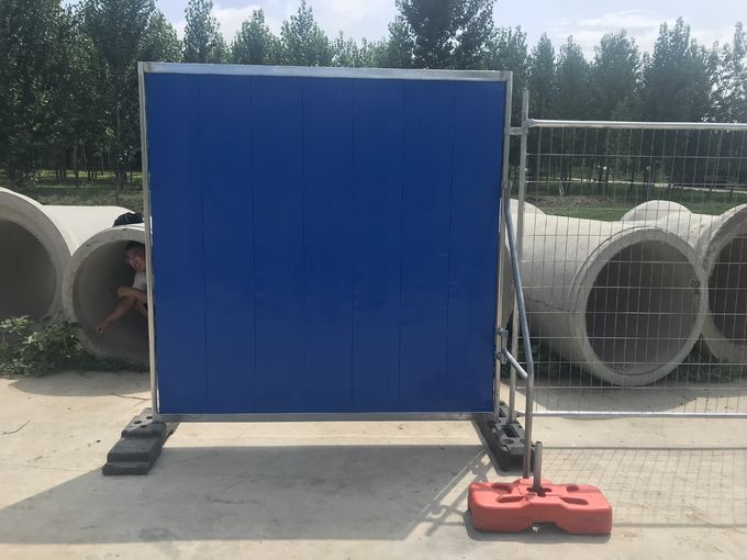 2000mm*2100mm temporary hoarding fence steel fencing
