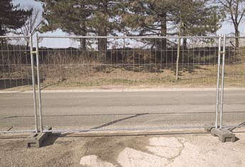 Mobile 400 Heras Temporary Fencing Plus C bracket