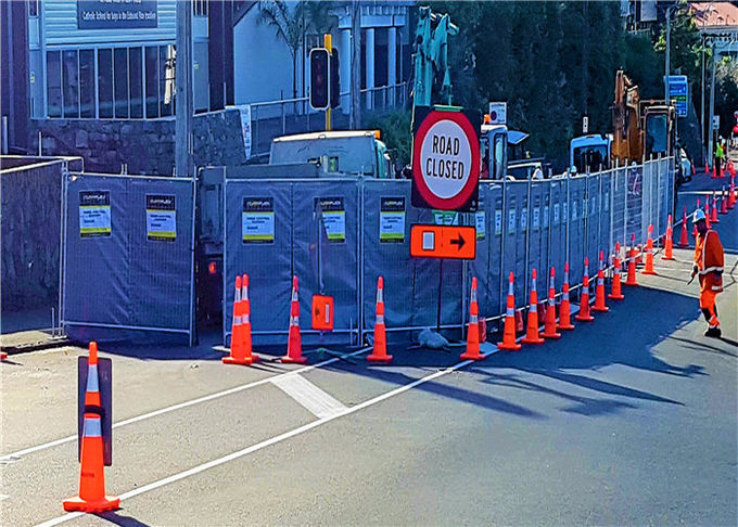 Temporary Sound Fence Portable Soundproof Waterproof 27dB Customized Available