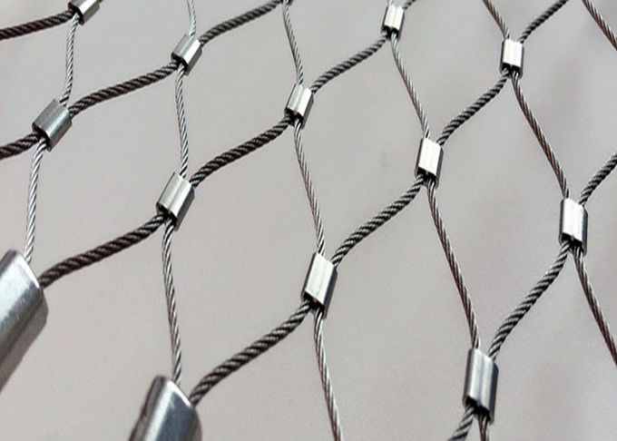 X-tend Decorative Wire Rope Mesh Fence