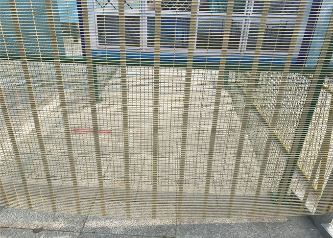 Anti-Climb Cut Powder Coated 358 High Security Prison Fence