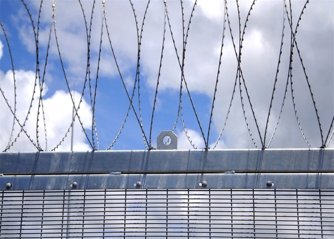 358 High Security Fence with Additional Twin Wire