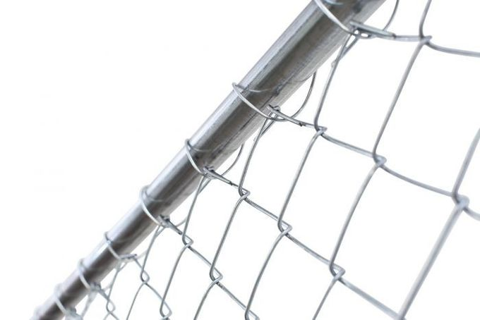 11.5 gauge wire temporary chain link fence panels