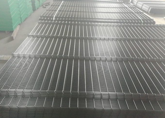 Hot dipped Galvanized 358 wire Fence Panels 2200mm/2300mm x 2515mm width Mesh 12.70mm*76.20mm diameter 3.00mm