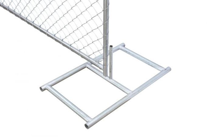 temporary chain link fence base